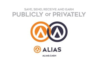 Alias dual-coin system improves privacy