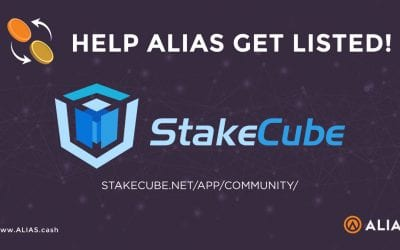 Get Alias Listed on Stakecube!