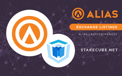 Alias Listed on Stakecube